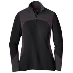 Outdoor Research Blackridge Top 2 - Womens-Black / Storm