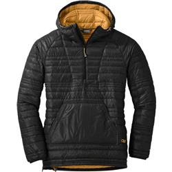 Outdoor Research Down Baja Pullover - Womens-Black / Honey