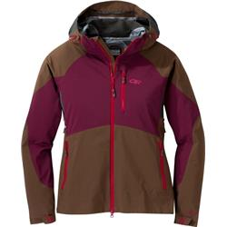 Outdoor Research Hemispheres Jacket - Womens-Carob / Zin