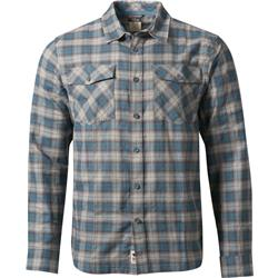 Rab LS Cascade Shirt - Mens-Lakeland Grey