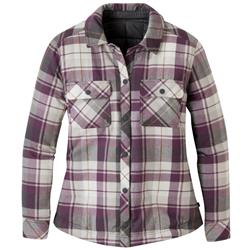 Outdoor Research Kalaloch Reversible Shirt Jacket - Womens-Pacific Plum Plaid