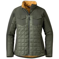 Outdoor Research Prologue Refuge Jacket - Womens-Basil / Juniper
