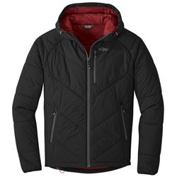 Outdoor Research Refuge Hooded Jacket - Mens-Black