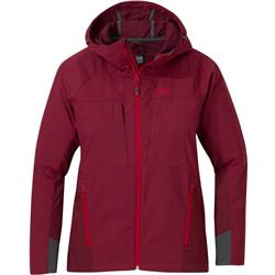 Outdoor Research San Juan Jacket - Womens-Garnet / Zin