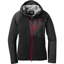 Outdoor Research Skyward II Jacket - Womens-Black / Storm