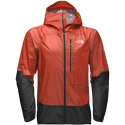 The North Face Summit L5 Ultralight Storm Jacket - Mens-Fiery Red / TNF Black