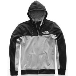 The North Face Surgent Bloc Full Zip Hoodie 2.0 - Mens-TNF Black / Mid Grey