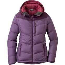 Outdoor Research Transcendent Down Hoody - Womens-Amethyst / Pacific Plum