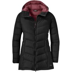Outdoor Research Transcendent Down Parka - Womens-Black