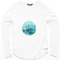 The North Face TNF Graphic LS - Womens-TNF White