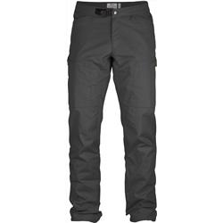 Fjallraven Abisko Shade Trousers, Reg - Mens-Dark Grey
