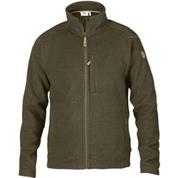 Fjallraven Buck Fleece - Mens-Dark Olive