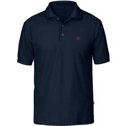 Fjallraven Crowley Pique Shirt - Mens-Blueblack