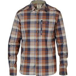 Fjallraven Fjallglim Shirt - Plaid 1 - Mens-Autumn Leaf