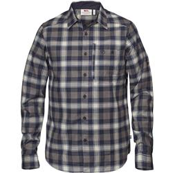 Fjallraven Fjallglim Shirt - Plaid 2 - Mens-Night Sky