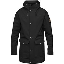 Fjallraven Greenland Eco-Shell Jacket - Mens-Black