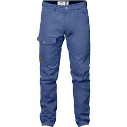 Fjallraven Greenland Jeans, Reg - Mens-Deep Blue