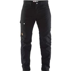 Fjallraven Greenland Jeans, Long - Mens-Black