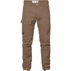 Fjallraven Greenland Jeans, Long - Mens-Dark Sand