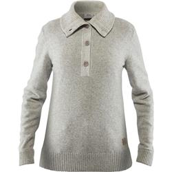 Fjallraven Greenland Re-Wool Sweater - Womens-Grey