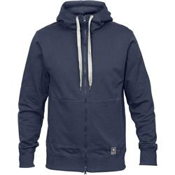 Fjallraven Greenland Zip Hoodie - Mens-Dark Navy