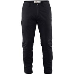 Fjallraven High Coast Stretch Trousers, Reg - Mens-Black