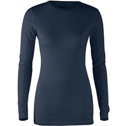 Fjallraven High Coast Top LS - Womens-Navy