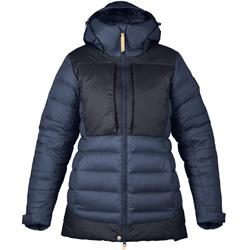 Fjallraven Keb Expedition Down Jacket - Womens-Storm / Night Sky