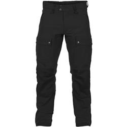 Fjallraven Keb Touring Trousers, Reg - Mens-Black