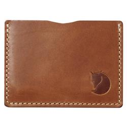 Fjallraven Ovik Card Holder-Leather Cognac