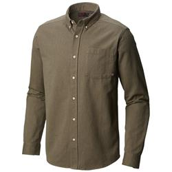 Mountain Hardwear Baxter LS Shirt - Mens-Peatmoss