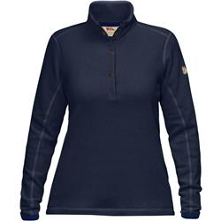 Fjallraven Ovik Fleece Sweater - Womens-Dark Navy