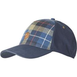 Fjallraven Ovik Plaid Cap-Navy
