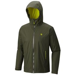 Mountain Hardwear Finder Jacket - Mens-Surplus Green