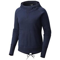 Mountain Hardwear Firetower LS Hoody - Womens-Dark Zinc