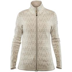 Fjallraven Snow Cardigan - Womens-Chalk White