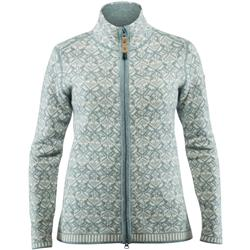 Fjallraven Snow Cardigan - Womens-Frost Green