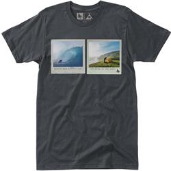 Hippy Tree Capture Tee SS - Mens-Charcoal
