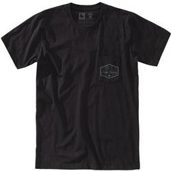 Hippy Tree Crestpoint Tee - Mens-Black