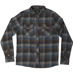 Hippy Tree Sheldon Flannel - Mens-Blue