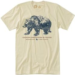 Hippy Tree Woodprint Tee - Mens-Natural