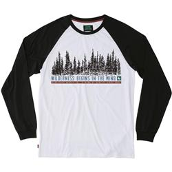 Hippy Tree Woodside L/S Tee - Mens-Black