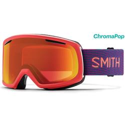 Smith Optics Riot, Frequency Frame, Chromapop Everyday Red Mirror Lens (Extra Lens : Yellow)-Not Applicable