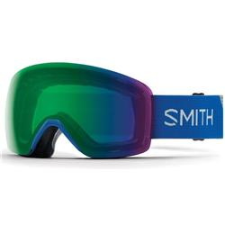 Smith Optics Skyline, Imperial Blue Frame, Chromapop Everyday Green Mirror Lens (Xtra Lens Not Included)-Not Applicable