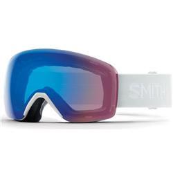 Smith Optics Skyline, White Vapor Frame, Chromapop Storm Rose Flash Lens (Xtra Lens Not Included)-Not Applicable