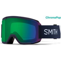 Smith Optics Squad, Ink Stratus Frame, Chromapop Everyday Green Mirror Lens (Extra Lens : Yellow)-Not Applicable