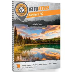 Backroad Mapbooks Backroad Mapbook - Northern BC - 5th Edition - Spiral-Not Applicable