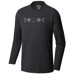 Mountain Hardwear Phases of the Space Station LS - Mens-Black