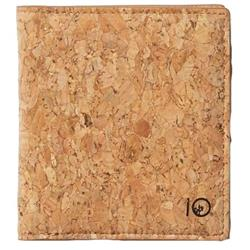tentree Cork Card Wallet-Cork