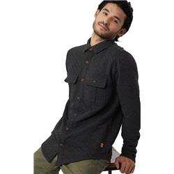 tentree Colville LS Button Up - Mens-Meteorite